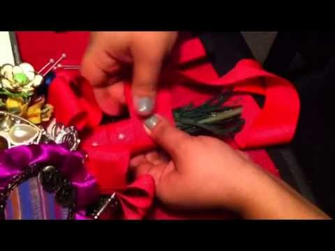 How to make a brooch bouquet pt.3.3