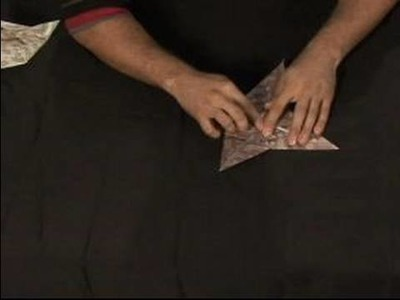 How to Make an Origami Orchid : Opening Flaps & Petal Folding of Origami Orchid