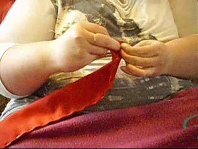 How to: sew a hakama 2