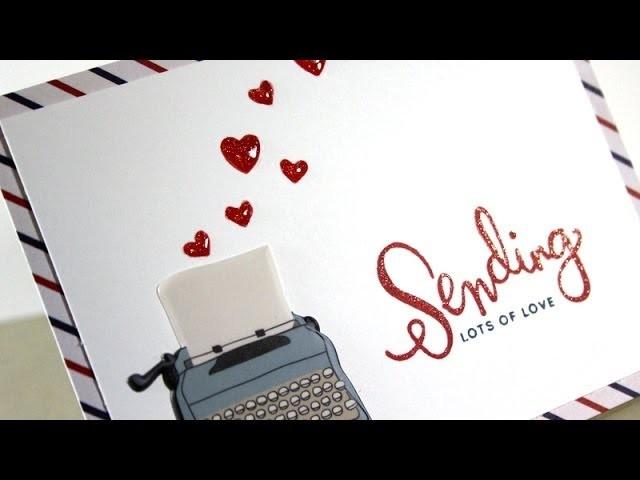 SSS July Card Kit - Sending love