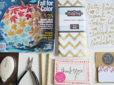 USA Craft & Stationery Haul | Michaels, Target One Spot, Project Life, Martha Stewart