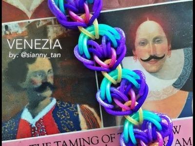 VENEZIA Hook Only bracelet tutorial