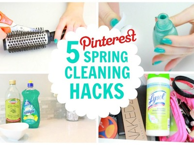 5 Pinterest Spring Cleaning Hacks (Beauty & Fashion)