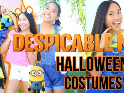 DIY Despicable Me Costumes and Makeup!! || BeautybyAndi