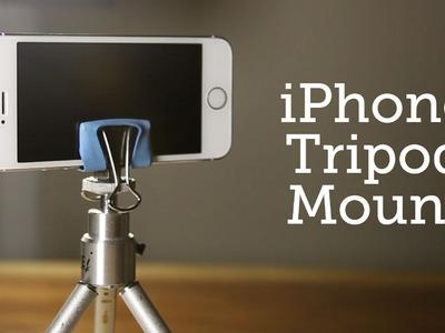 DIY iPhone tripod Mount