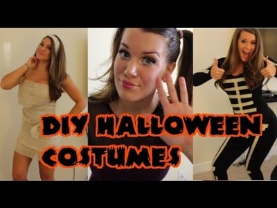 DIY: Last Minute Halloween Costumes