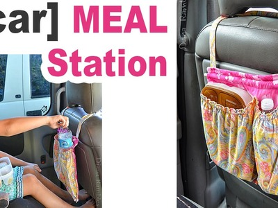 DIY Meal Organizer for the Car - a Sewing Tutorial