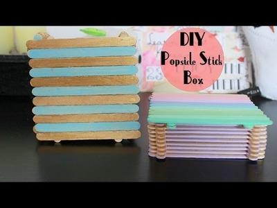 ✂ DIY Popsicle Stick Box