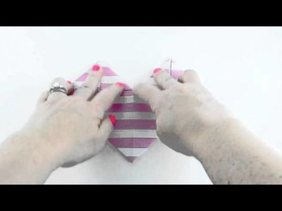 Easy Origami Heart with Letter Sized Paper