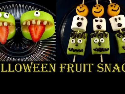 Halloween Fruit Snacks - with yoyomax12