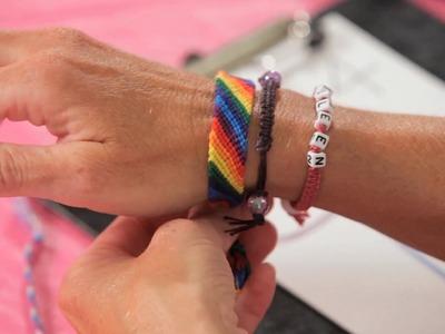 How to Make a Candy Stripe Bracelet | Bracelet Patterns