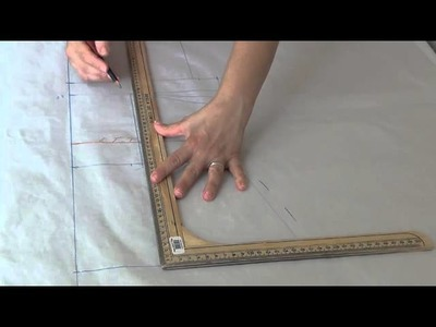 How To Make The Pattern For A Blazer, Coat, etc.  Transformación Patrón De Saco, Abrigo, Etc.