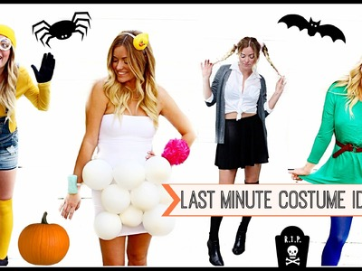 Last Minute DIY Halloween Costumes! Style By Dani