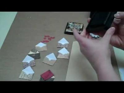 Men's Valentine's Day Mini Envelopes Card