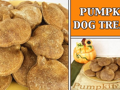 PUMPKIN DOG TREATS HOW TO DIY TUTORIAL - YTCM HALLOWEEN COLLAB