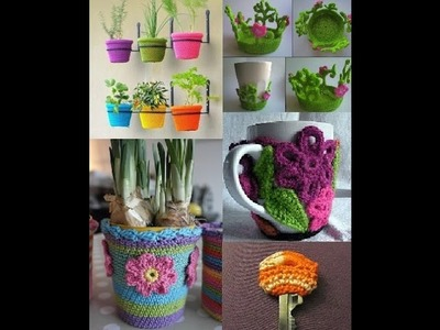 Creative Crochet Ideas for HOME DECORATION Appliance