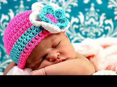 Hat Crochet Baby Hat With Bow Crochet Baby Hat With Bow Crochet