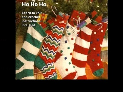 Crochet christmas stocking free patterns