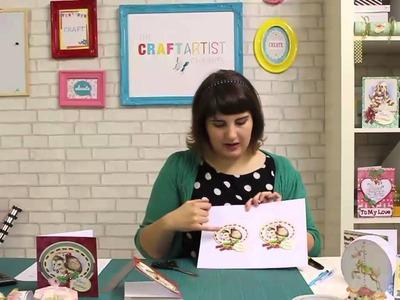 DIY Christmas Card - tutorial by Charlotte