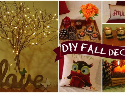 DIY easy room decor for fall I Easy room decor ideas I diy home decorations