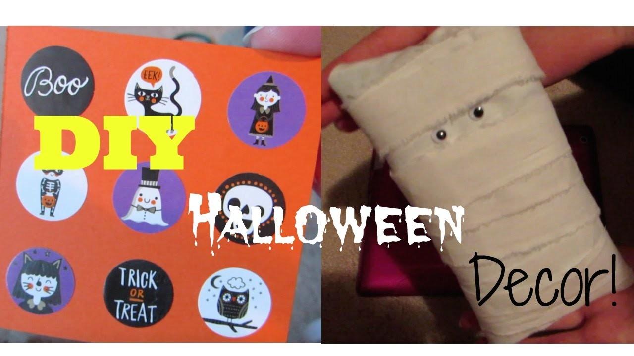 DIY Halloween Decor for Your American Girl Dolls!