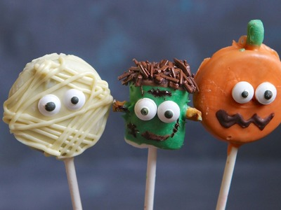 DIY Halloween Pops Recipe - Hot Chocolate Hits
