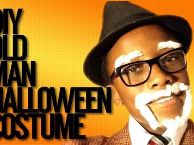 DIY Old man Halloween costume (first video!)