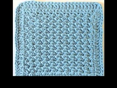 Easy crochet dishcloth projects