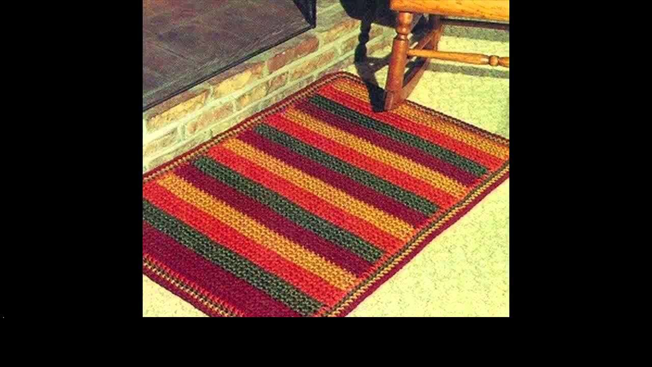 Free crochet rug project