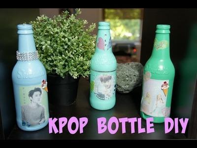 KPOP Decor Bottles DIY