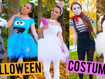 Last Minute DIY Halloween Costumes! Cookie Monster, Baymax, One Direction + More! | Kristi-Anne Beil