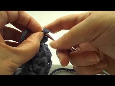 Pixiebell Crochet - Front Post Double Crochet Cluster