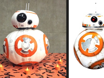 Star Wars BB-8 Inspired DIY Pumpkin | Disney Family