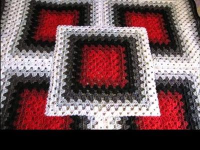 Tunisian crochet afghan patterns