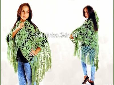 Crochet Shawl| Free |crochet patterns| 317
