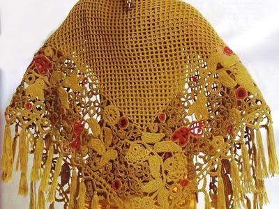 Crochet Shawl| Free |crochet patterns| 307