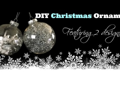 DIY Christmas Ornaments - Dollar Tree Ornaments