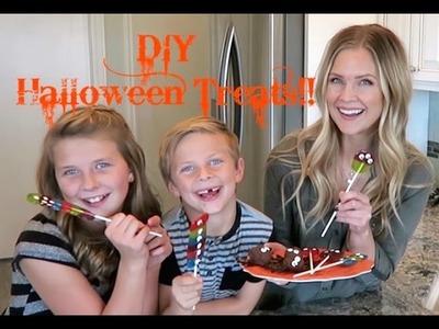 DIY Halloween Treats!!
