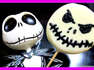 DIY JACK SKELLINGTON OREOS | #YTCM Halloween Collab