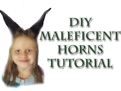 DIY Simple Maleficent Horns Tutorial - Stop the Pin-Sanity