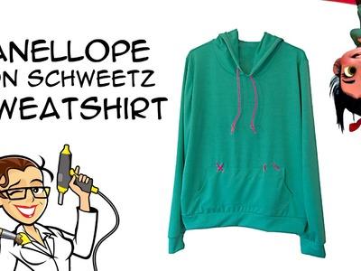 DIY Vanellope von Schweetz Sweatshirt Wreck it Ralph Cosplay: Crafty McFangirl Tutorial