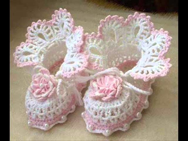 Easy Crochet Baby Booties Examples