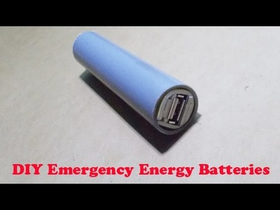 Free Energy Generator Homemade Mobile Battery Charger Smartphone USB DIY Power Bank Pack Cell Phone