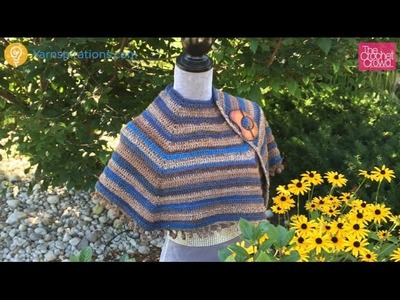 How to Crochet Cool Casual Shawl