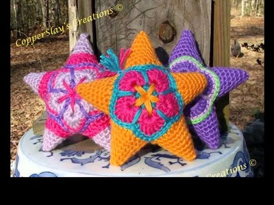 How to crochet star