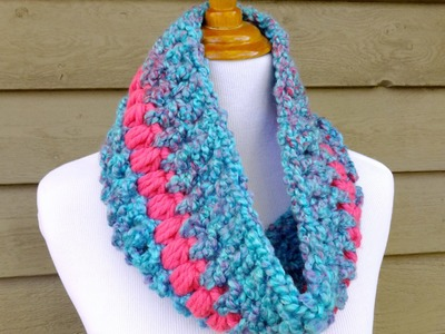 How To Crochet The Candy Shop Cowl, Episode 262