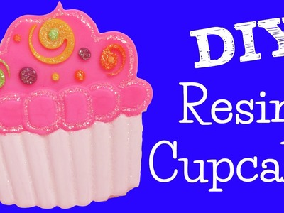Resin Cupcake DIY Room Decoration