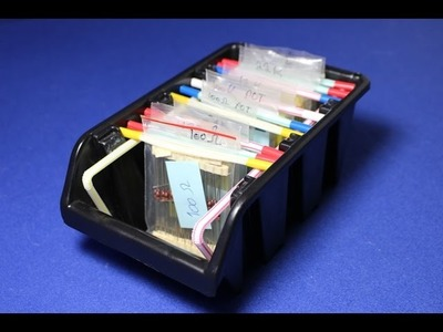 Space Saving DIY Organiser For Electronic.Small Components