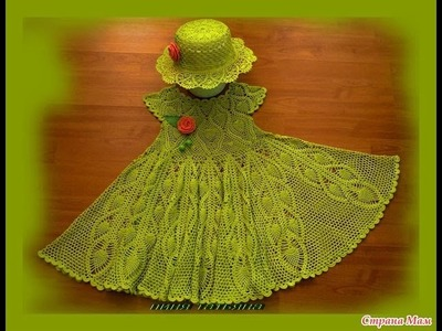 Crochet dress| How to crochet an easy shell stitch baby. girl's dress for beginners 62