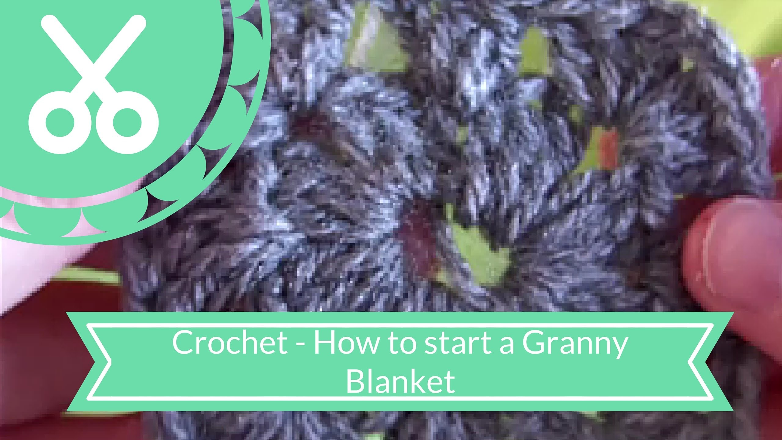 Crochet - How To Start A Granny Blanket!